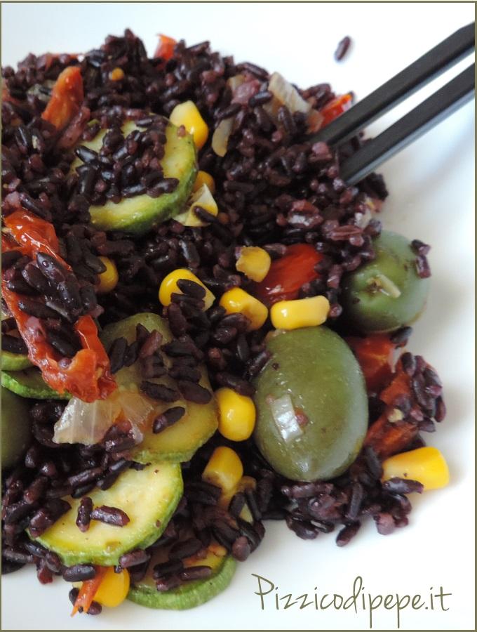 Riso-nero-Venere-verdure-saltate