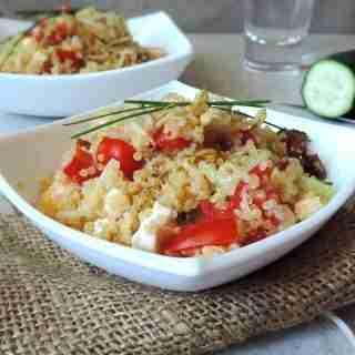 Ricetta-leggera-quinoa-verdure-feta