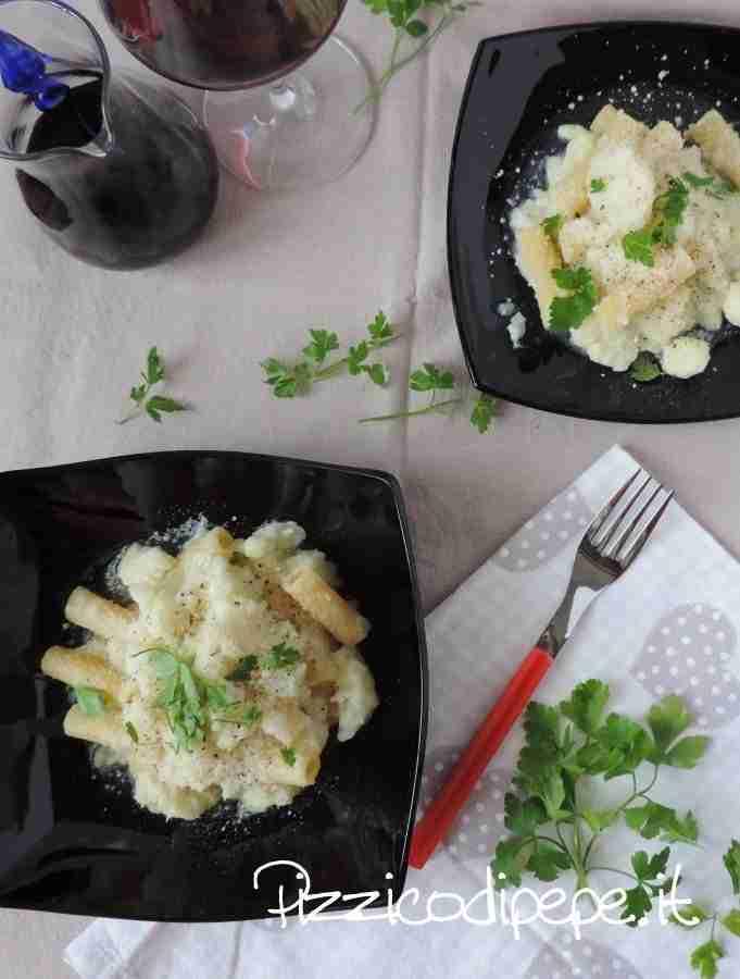 Pasta al cavolfiore -Pizzicodipepe