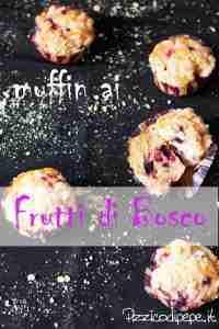 Muffin ai frutti di bosco Pizzicodipepe.it