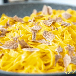 Tagliolini (Tajarin) al tartufo