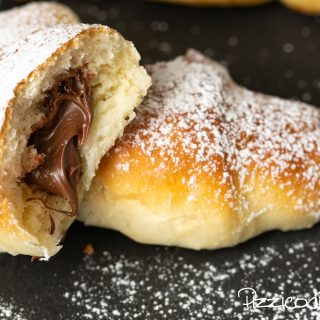 Brioches con Nutella