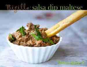 bigilla salsa dip maltese