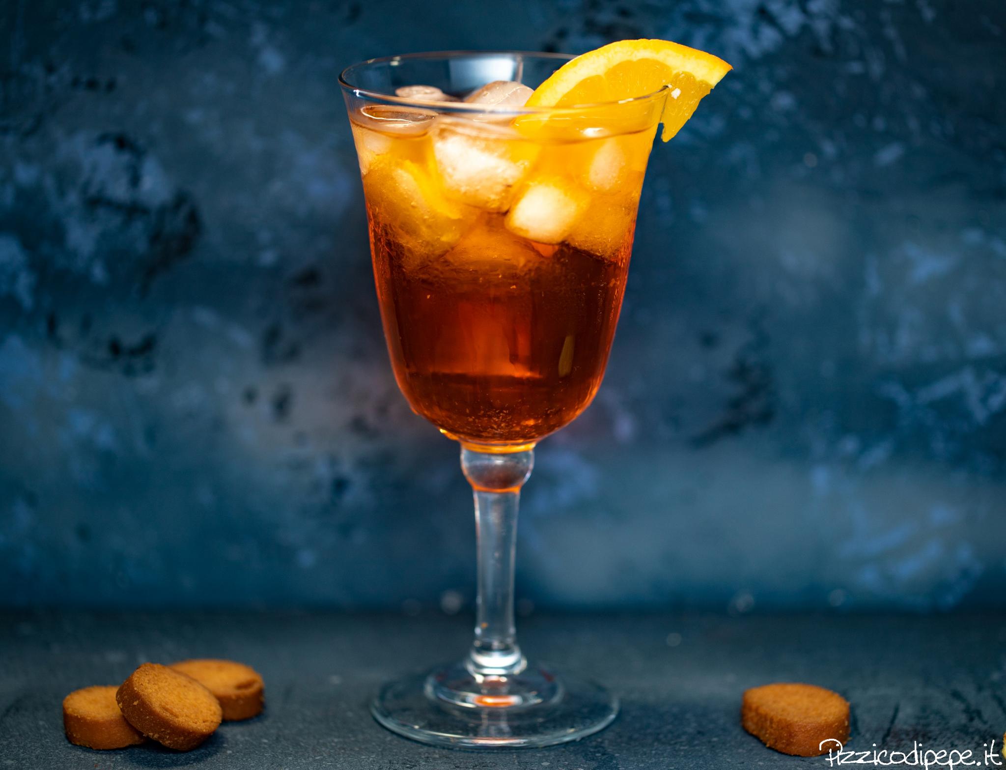 Spritz in bicchiere